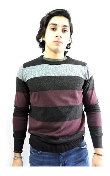 Sweater Hombre Rayado Nasa Jungle Hilo