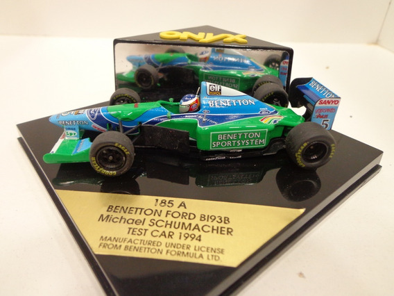 Benetton Ford B193b Schumacher 1994 1/43 Onyx