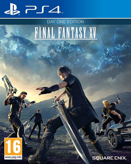 Final Fantasy Xv 15 Ps4 Mídia Física Lacrado