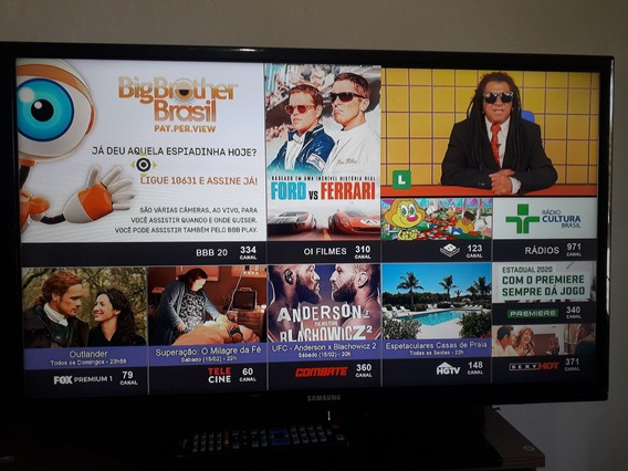 Tv Samsung 32 Com ControleNão É Smart