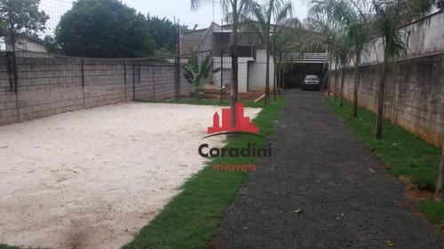 Chácara Residencial À Venda, Parque Mangueira, Americana. - Ch0075