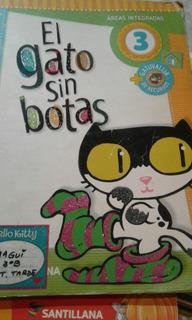 El Gato Sin Botas 3 Ed. Santillana Usado