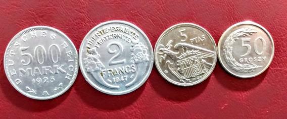 Monedas De Europa 18 Polonia Y Otros Países