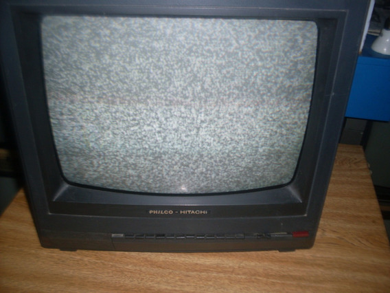 Tv Philco-hitachi De 14 Polegada.