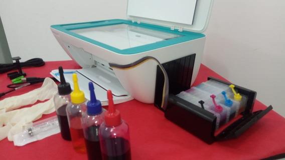 Hp 2676 Com Wi-fi+bulk Luxo Caixa Preta Montado E Funcionando 100% Esta Sim Funciona De Verdade+5 Brinde
