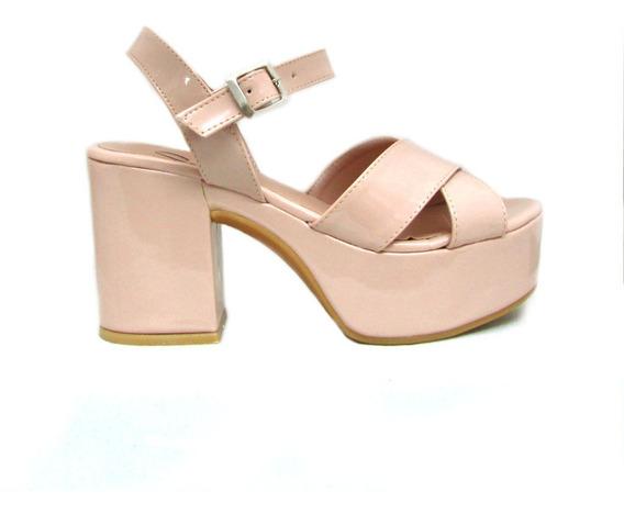 Zapatos Fiesta Sandalias Mujer Plataformas Moda 2020 Art 510