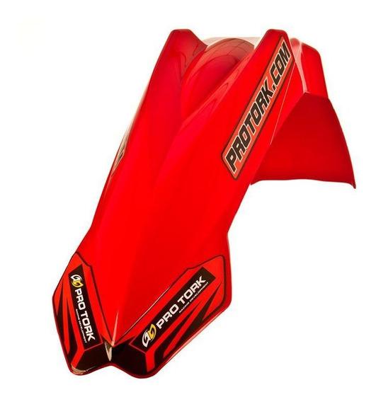 Paralama Dianteiro Protork Universal Mx2 -vermelho