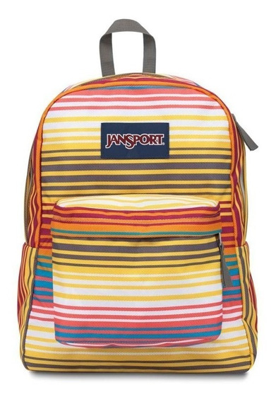Mochila Jansport De 25 Lts. Super Break (multi Sunset St)