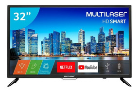 Tela Led 32 Polegadas Multilaser Internet Netflix Hdmi Tl006