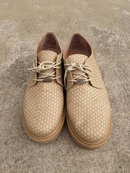 Zapatos Con Plataforma En Buen Estado