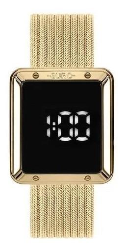 Relógio Euro Fashion Fit Touch Dourado Eubj3937aa4f Original