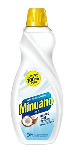 Lava Roupas Líquido Coco Minuano 500ml