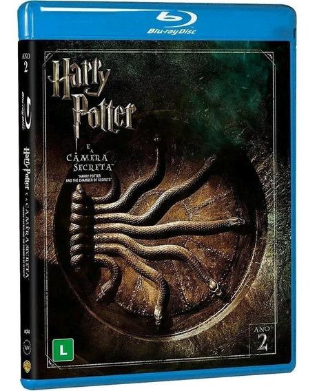 Harry Potter E A Câmara Secreta - Blu-ray Duplo - Novo