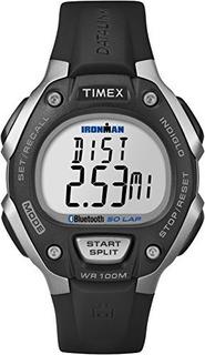 Timex Ironman Classic 50 Move Watch Con Banda De Resina Negr