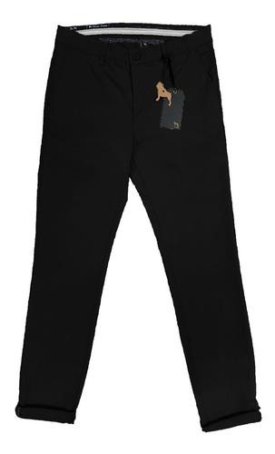 Imagen 1 de 1 de Pantalon Gabardina Chino Con Elastano | Bravo Jeans (16091)