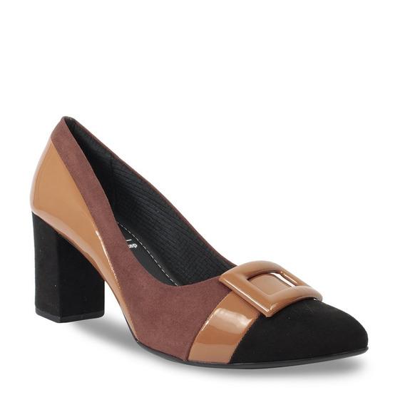 Sapato Piccadilly Soft Step Feminino Bico Fino 746015