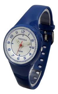 Reloj Tressa Zoe Dama Caucho Sumergible 100m Luz Garant Of