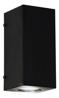 Lámpara de pared Ferrolux AP-205 negra texturada 220V 4 unidades