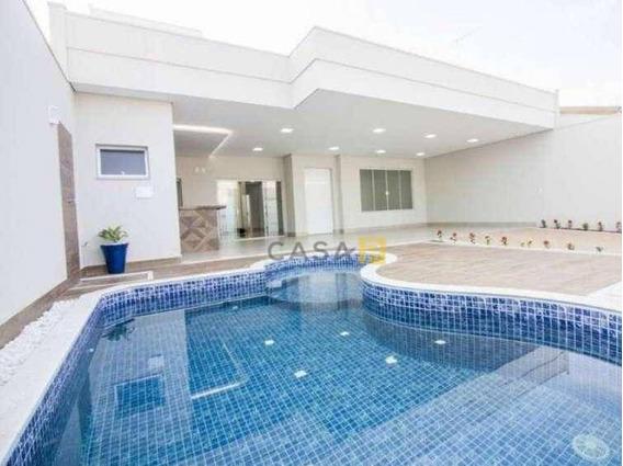 Casa Com 3 Dormitórios À Venda, 204 M² Por R$ 830.000,00 - Parque Universitário - Americana/sp - Ca0418