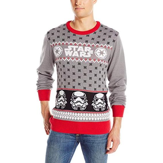 Suéter Navideño Storm De Star Wars, Gris, Xx-large