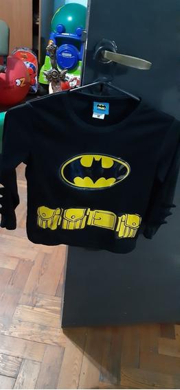 Disfraz Batman Importado Con Luces Dc Comics Talle M