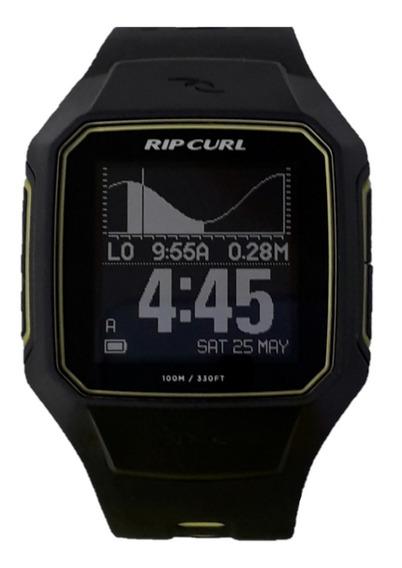 Relógio Ripcurl Search Gps Series 2 Preto E Amarelo A1144 10