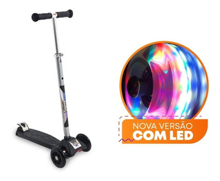 Patinete Scooter Net Max Racing Club Com Led - Zoop Toys