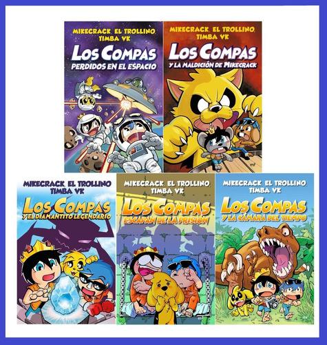 Imagen 1 de 6 de Los Compas 1, 2, 3, 4 Y 5 Trollino, Timba Vk Y Mikecrack
