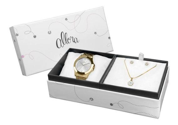 Relógio Allora Feminino Dourado - Al2035ft/4k
