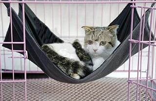 2 Lados Gato Gatito Cama Hamaca Colgante Hamaca Impermeable