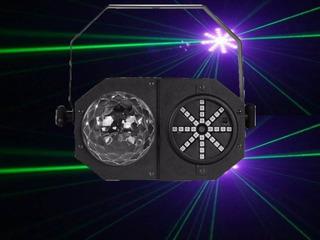 Efecto Mad Box 3 En 1 Laser Figuras Bola Led Flash El Mejor Mira El Video