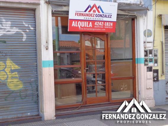 Local Comercial U Oficina En Banfield Centro En Alquiler