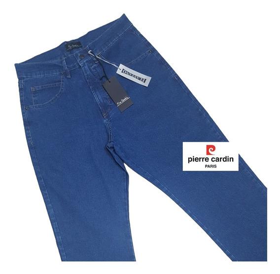 Calça Jeans Pierre Cardin Tradicional Original Do 38 Ao 54