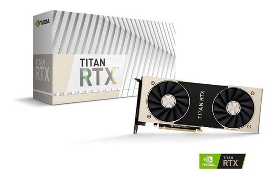 Placa De Vídeo Nvidia Geforce Titan Rtx 24gb 384-bit Gddr6