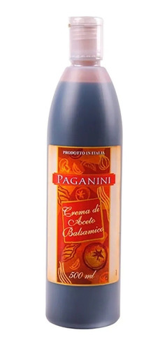 Imagem 1 de 1 de Vinagre Italiano Balsâmico Crema Paganini 500ml