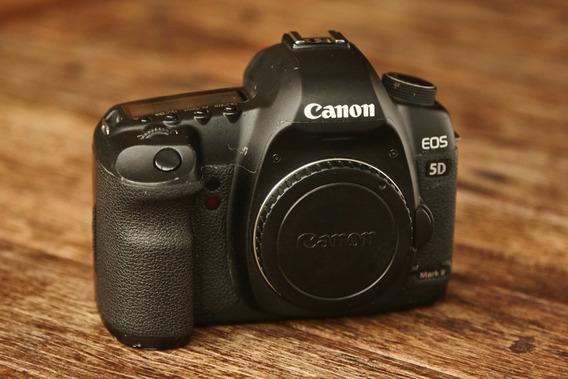 Câmera Canon 5d Mark 2 - Excelente Estado! 75mil Clicks!
