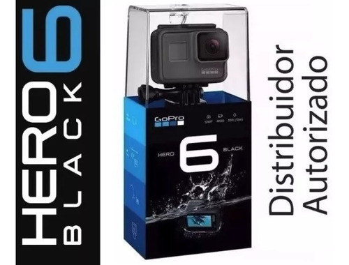 Go Pro Camera Filmadora Gopro Hero 6 Chdhx 601 Black 12mp 4k