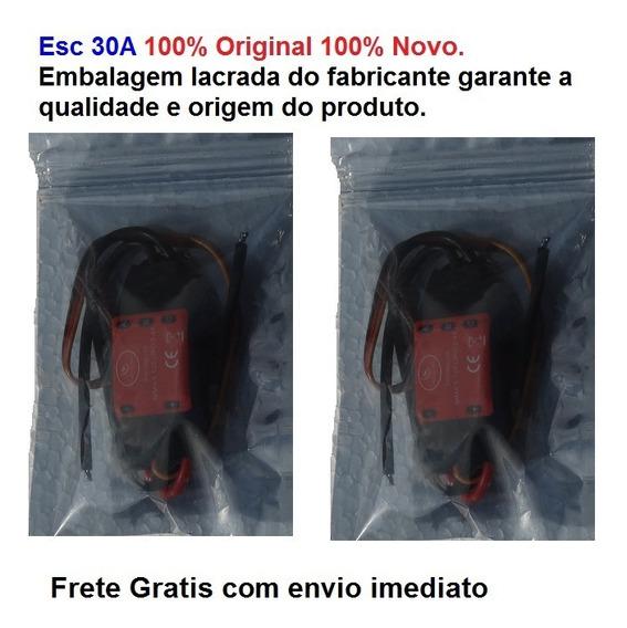 Esc 30a Simonk+plug Bullets 3,5mm 100% Original 100% Novo