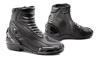 Botas De Moto Forma Axel Street (negro, Talla 5 Us / Tamaño