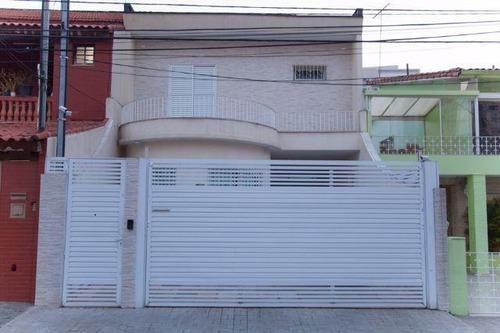 Sobrado Residencial À Venda, Tatuapé, São Paulo. - So5970