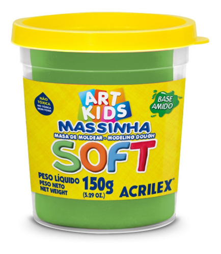 Masa Soft Acrilex 150g