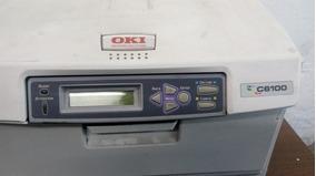 Oki Data C6100 (funcionando) Para Tirar Peças