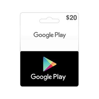 Google Play U$ 20 Para Comprar Juegos De Celulares Android