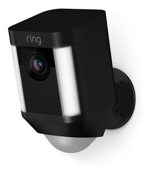 Ring Spotlight Cam Battery Cámara De Videovigilancia Negro