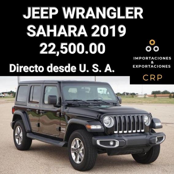 Jeep Wrangler Sahara 2019