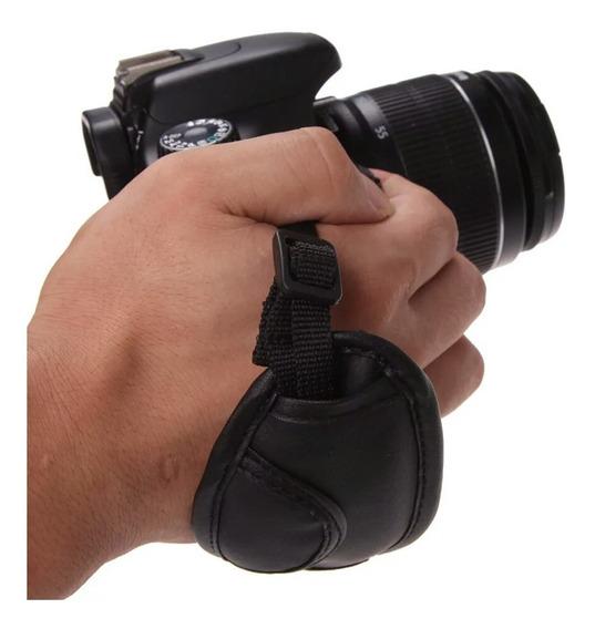 Alça De Mão Hand Grip Canon Nikon Sony Fuji - Promoção
