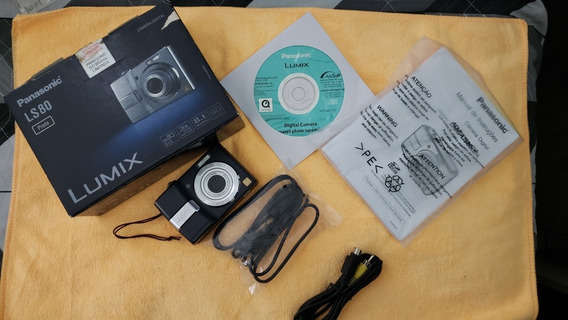 Camera Digital Panasonic Lumix Ls80 8.1 Mega - Frete Grátis