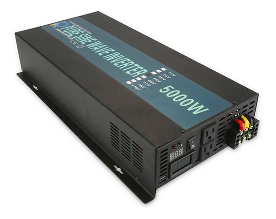 Inversor De Senoide 5000w 24vcc Para 120vca 60hz