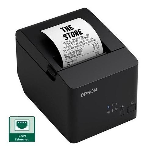 Imagem 1 de 5 de Impressora Termica Epson Tm T20x Não Fiscal Rede Ethernet