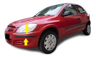 Chevrolet Celta Protectores De Paragolpes Rapinese 3 Piezas